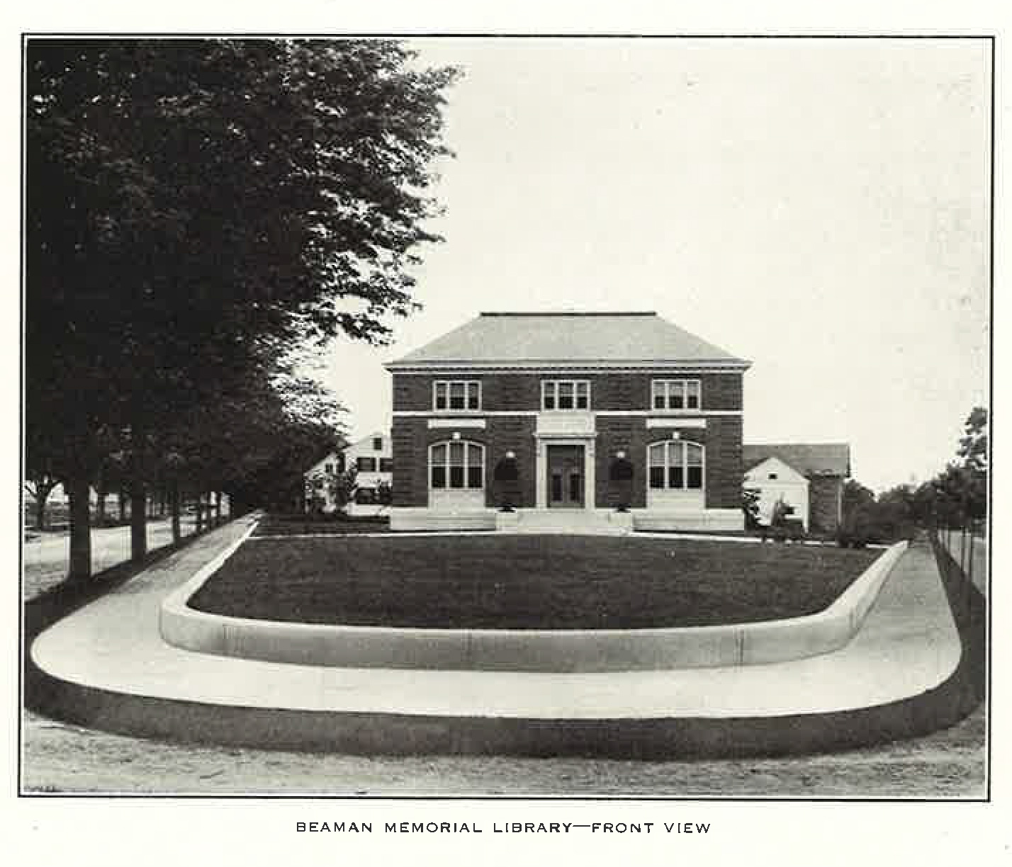 Image of Beaman Library from 1912