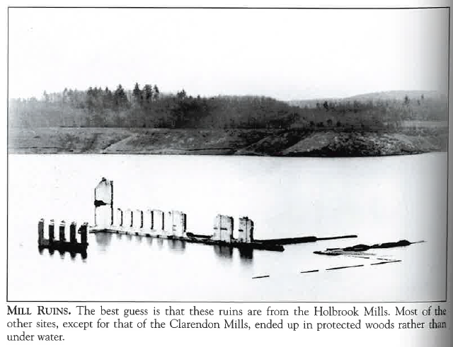 MillRuins, photograph from book