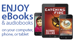 Image link to information about free audiobooks for teens