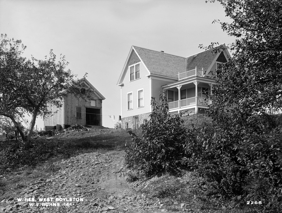 Image of W. J. Burns' home